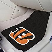 FANMATS Cincinnati Bengals 2-Piece Printed Carpet Car Mat Set