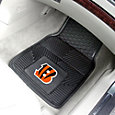 FANMATS Cincinnati Bengals 2-Piece Heavy Duty Vinyl Car Mat Set