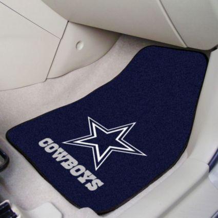 945815f6dd06c Dallas Cowboys 2-Piece Printed Carpet Car Mat Set