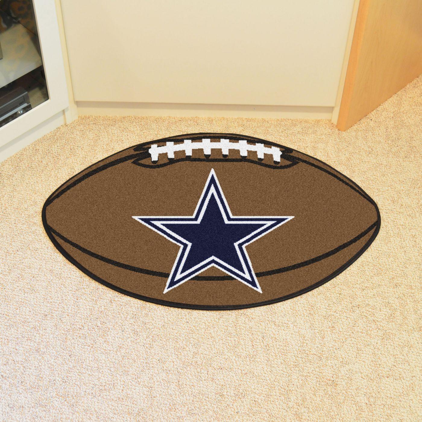 FANMATS Dallas Cowboys Football Mat