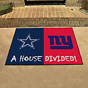 Product Image · FANMATS Dallas Cowboys-New York Giants House Divided Mat