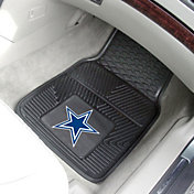 FANMATS Dallas Cowboys 2-Piece Heavy Duty Vinyl Car Mat Set
