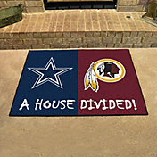 Dallas Cowboys-Washington Redskins House Divided Mat