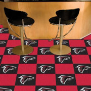 FANMATS Atlanta Falcons Team Carpet Tiles