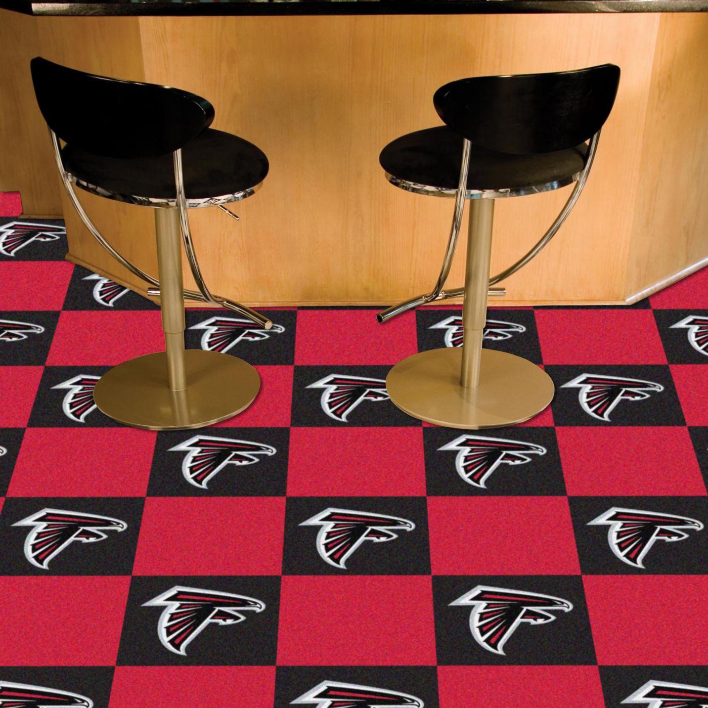 FANMATS Atlanta Falcons Team Carpet Tiles
