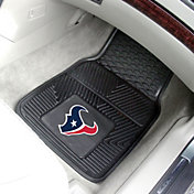 FANMATS Houston Texans 2-Piece Heavy Duty Vinyl Car Mat Set