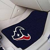 Houston Texans 2-Piece Printed Carpet Car Mat Set