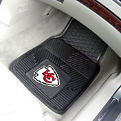 FANMATS Kansas City Chiefs 2-Piece Heavy Duty Vinyl Car Mat Set