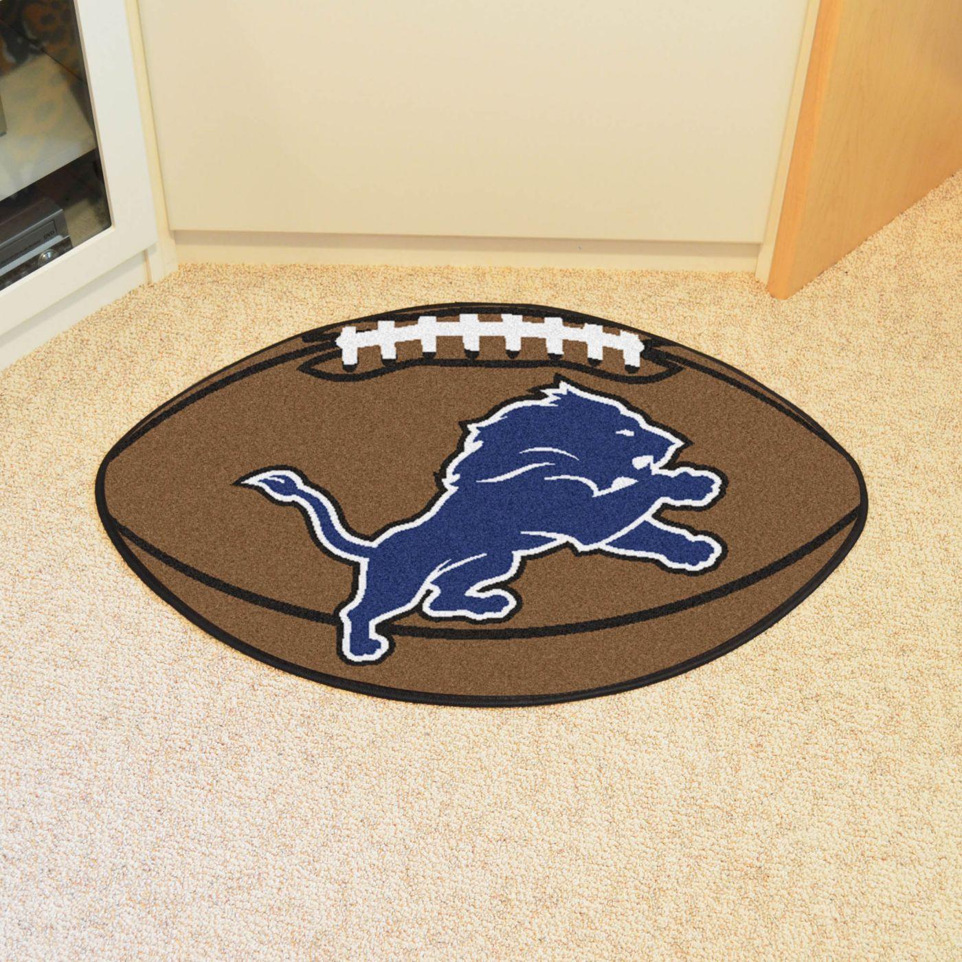 Detroit Lions Football Mat