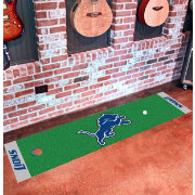 FANMATS Detroit Lions Putting Mat
