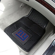 FANMATS New York Giants 2-Piece Heavy Duty Vinyl Car Mat Set