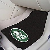 FANMATS New York Jets 2-Piece Printed Carpet Car Mat Set