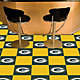 FANMATS Green Bay Packers Team Carpet Tiles