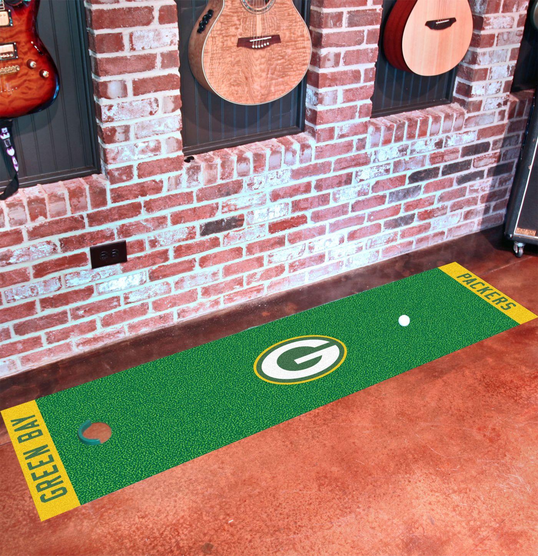 FANMATS Green Bay Packers Putting Mat