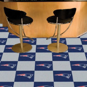 FANMATS New England Patriots Team Carpet Tiles