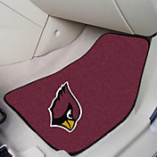 FANMATS Arizona Cardinals 2-Piece Printed Carpet Car Mat Set