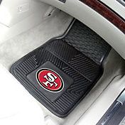 San Francisco 49ers 2-Piece Heavy Duty Vinyl Car Mat Set