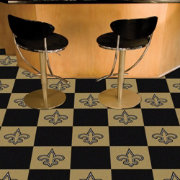 FANMATS New Orleans Saints Team Carpet Tiles
