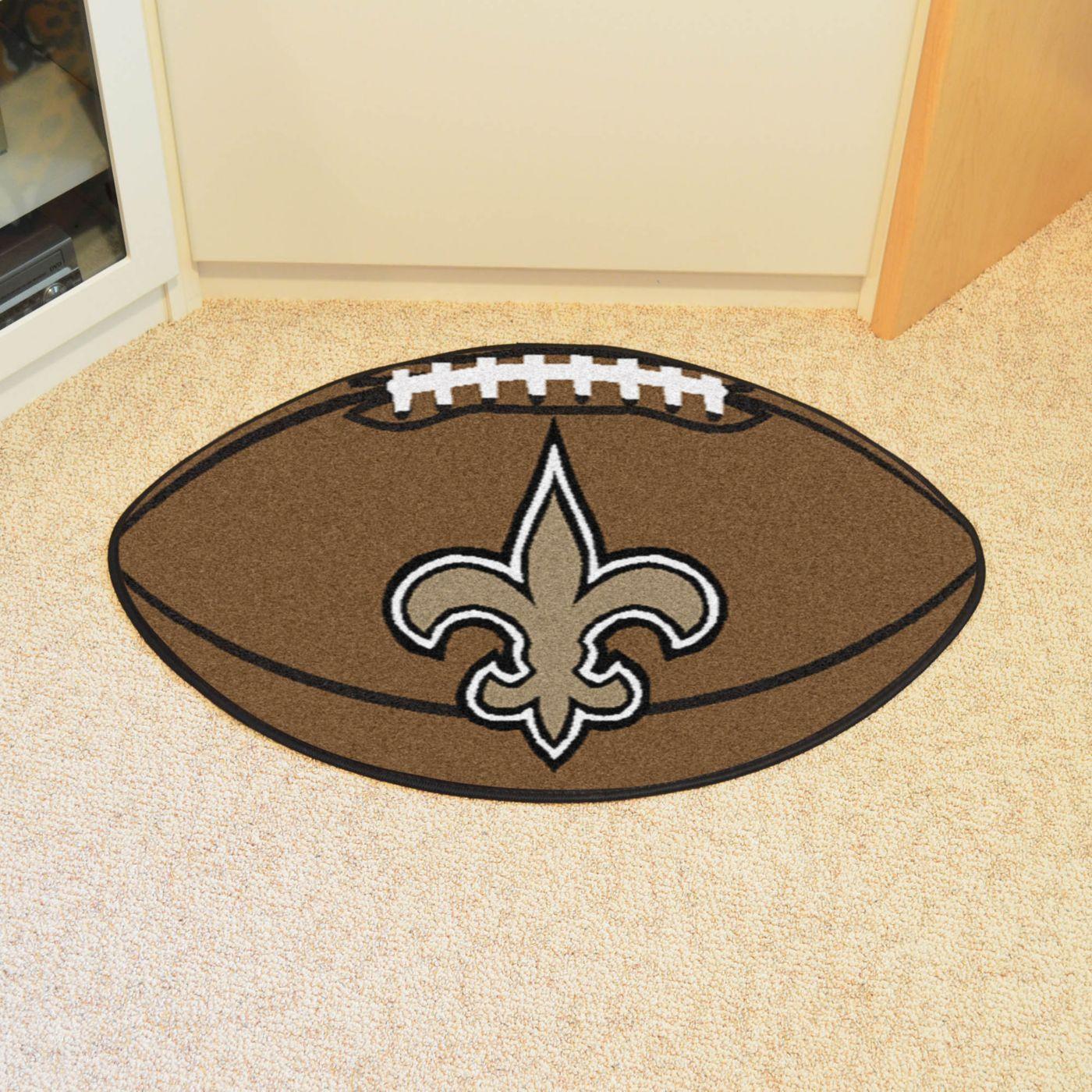 FANMATS New Orleans Saints Football Mat