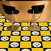 FANMATS Pittsburgh Steelers Team Carpet Tiles