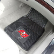 Tampa Bay Buccaneers 2-Piece Heavy Duty Vinyl Car Mat Set
