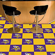 FANMATS Minnesota Vikings Team Carpet Tiles