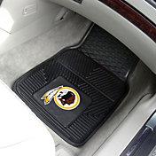 FANMATS Washington Redskins 2-Piece Heavy Duty Vinyl Car Mat Set