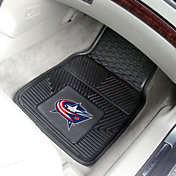 FANMATS Columbus Blue Jackets Two Piece Heavy Duty Vinyl Car Mat Set