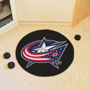 FANMATS Columbus Blue Jackets Puck Mat
