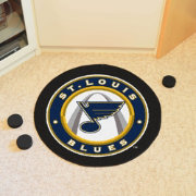 St. Louis Blues Puck Mat