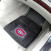 FANMATS Montreal Canadiens Two Piece Heavy Duty Vinyl Car Mat Set