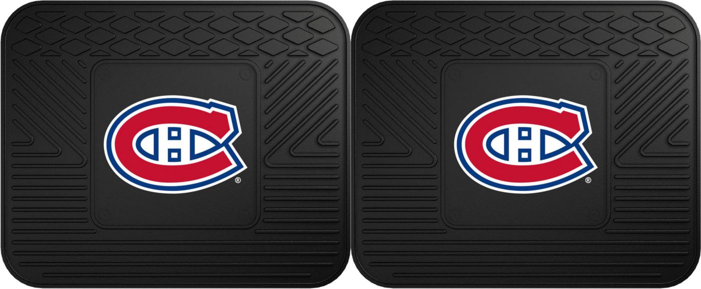 FANMATS Montreal Canadiens Two Pack Backseat Utility Mats