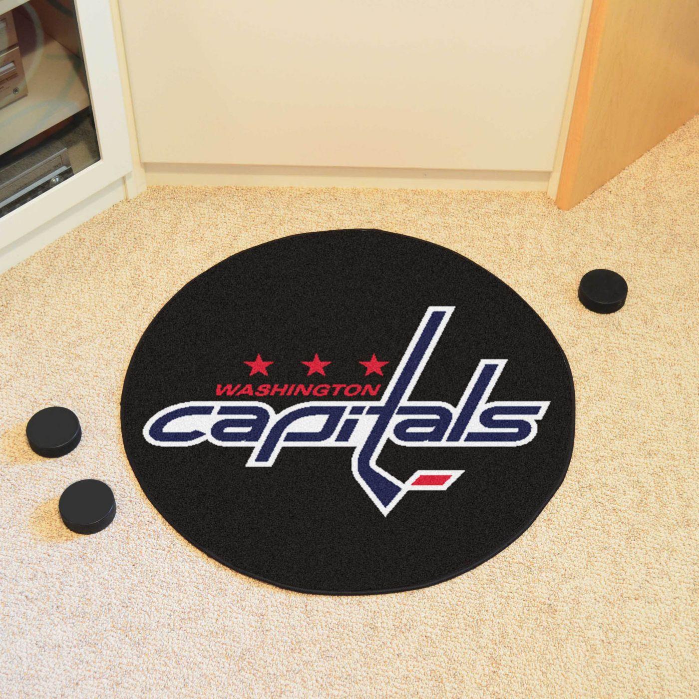 FANMATS Washington Capitals Hockey Puck Mat