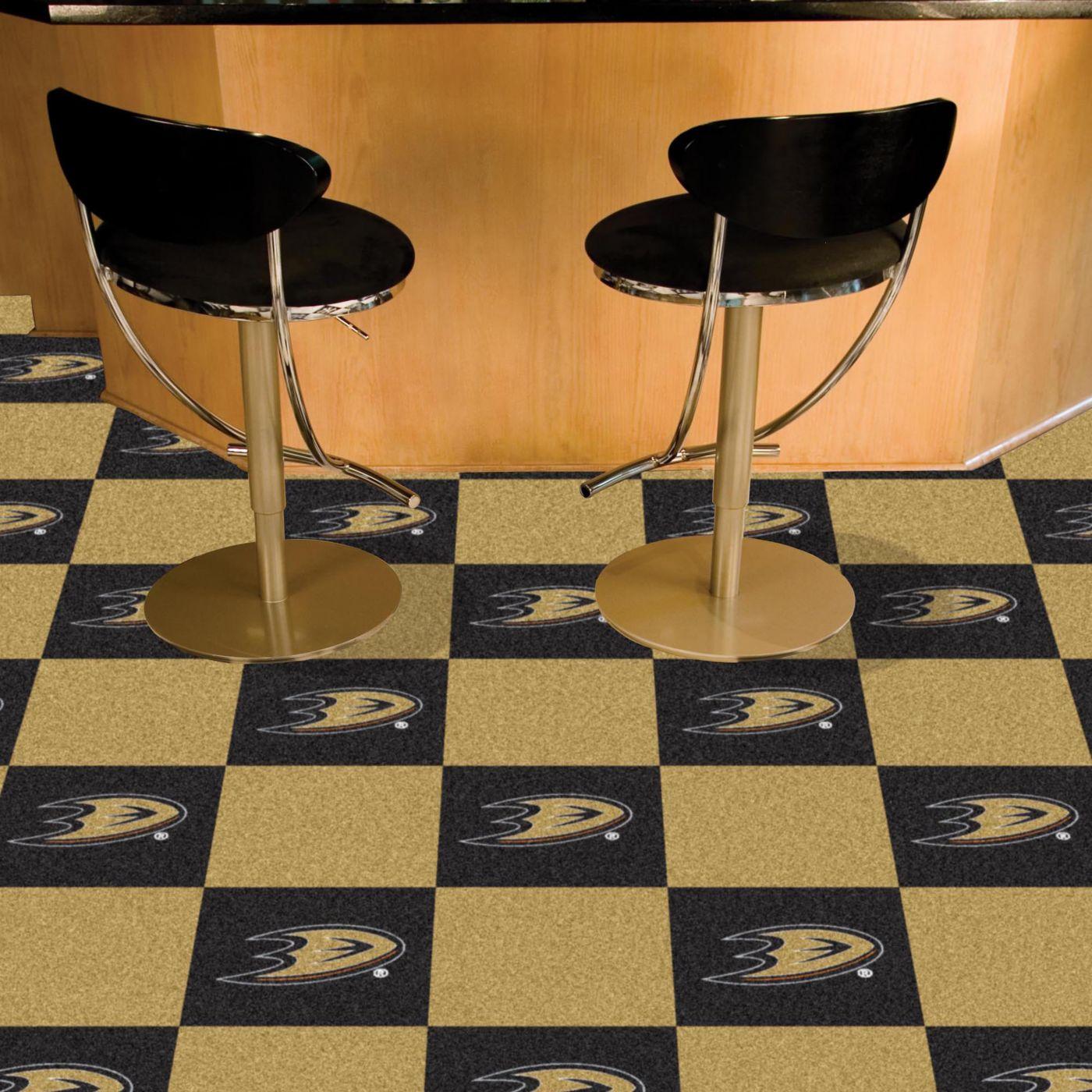 FANMATS Anaheim Ducks Carpet Tiles