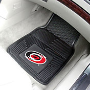 Carolina Hurricanes Two Piece Heavy Duty Vinyl Car Mat Set