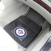 FANMATS Winnipeg Jets 2 Piece Heavy Duty Vinyl Car Mat Set