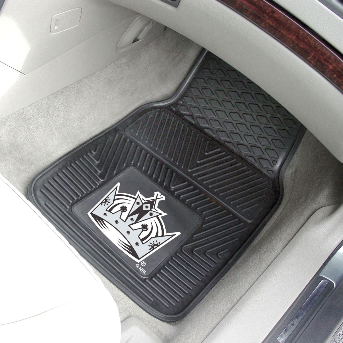 FANMATS Los Angeles Kings 2 Piece Heavy Duty Vinyl Car Mat Set