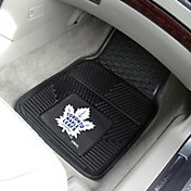 Toronto Maple Leafs Two Piece Heavy Duty Vinyl Car Mat Set