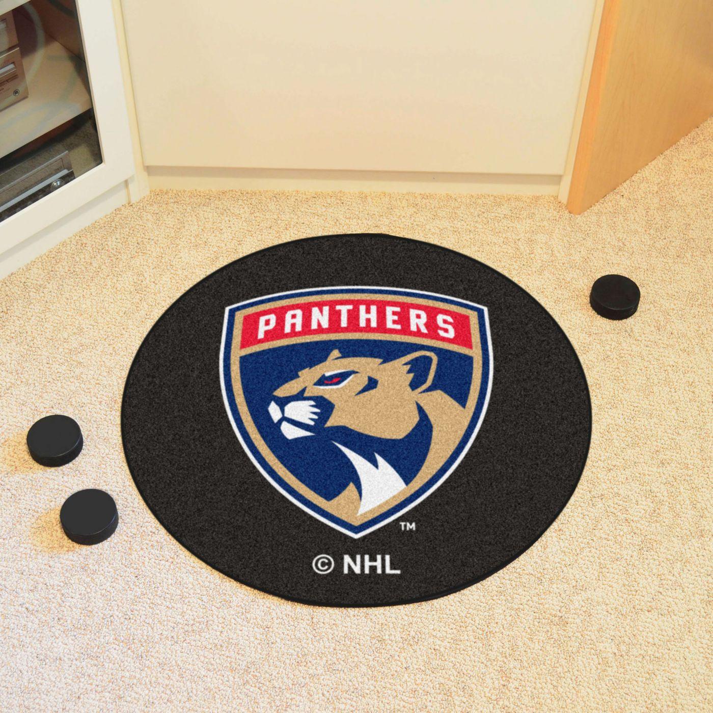FANMATS Florida Panthers Puck Mat