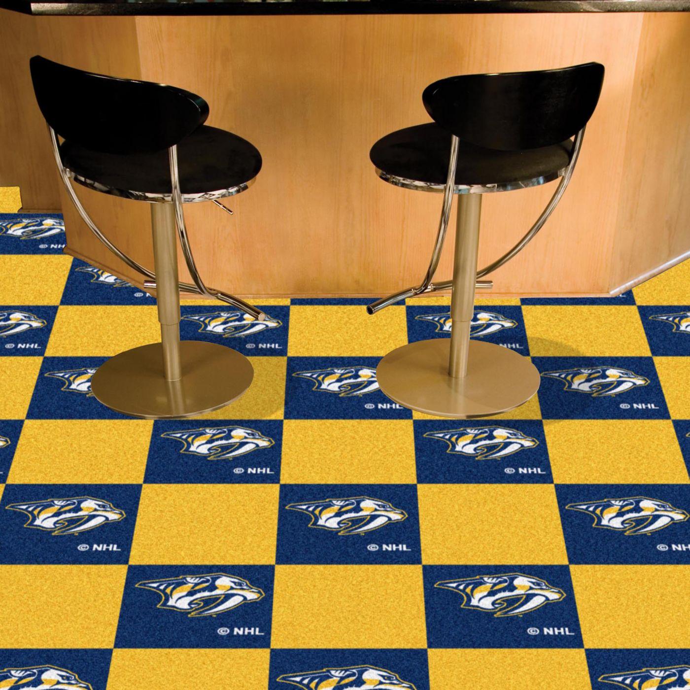 FANMATS Nashville Predators Carpet Tiles