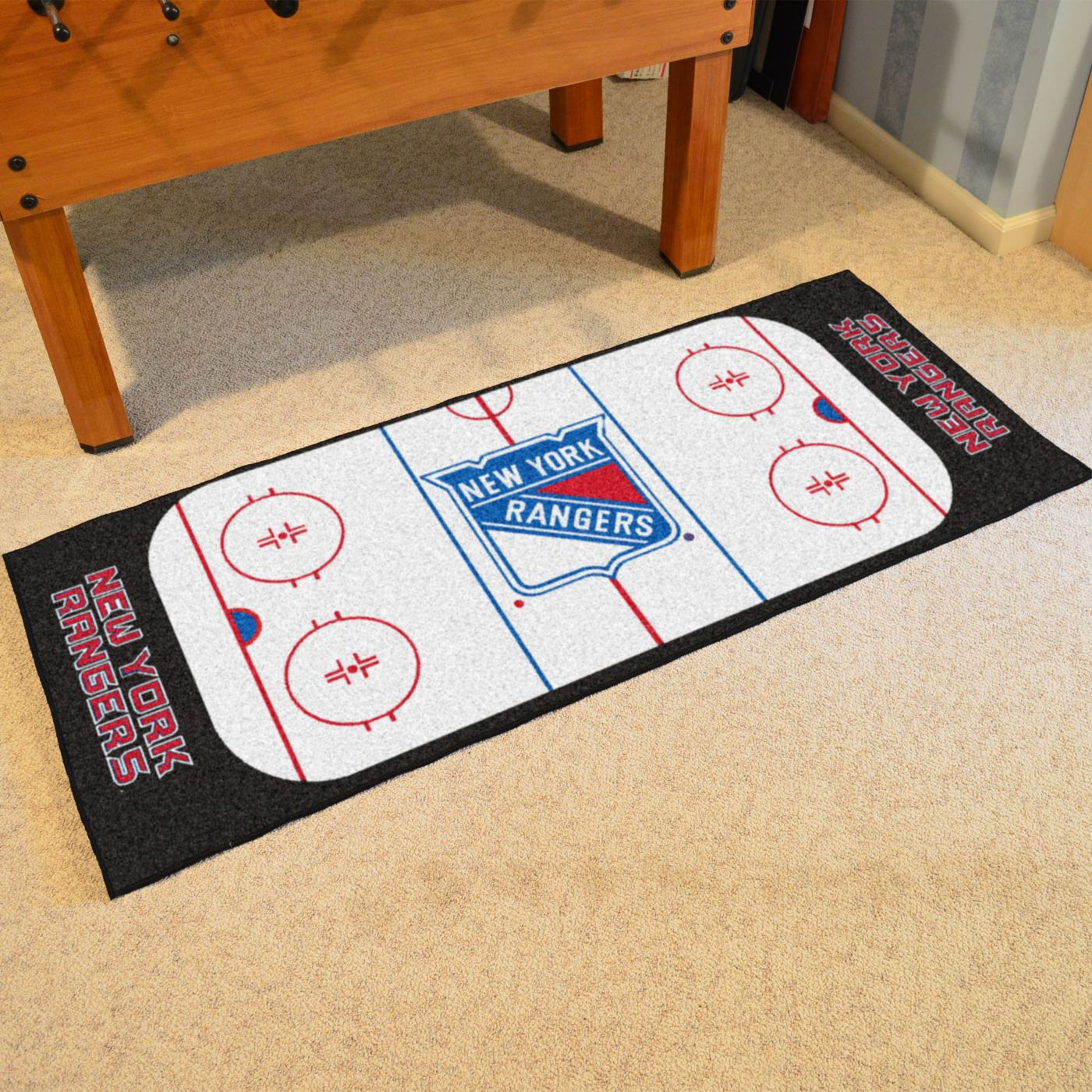 FANMATS New York Rangers Rink Runner Floor Mat