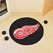 FANMATS Detroit Red Wings Puck Mat
