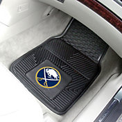 FANMATS Buffalo Sabres Two Piece Heavy Duty Vinyl Car Mat Set