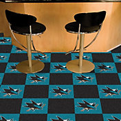FANMATS San Jose Sharks Carpet Tiles