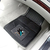 San Jose Sharks 2 Piece Heavy Duty Vinyl Car Mat Set