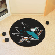 San Jose Sharks Puck Mat