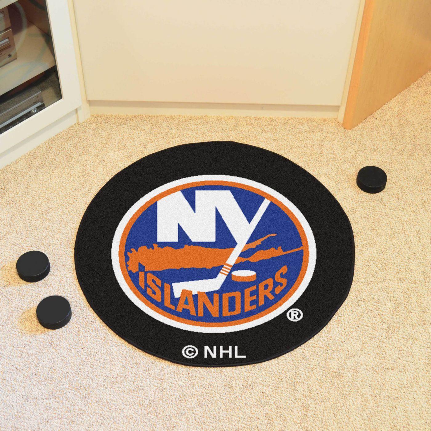New York Islanders Puck Mat