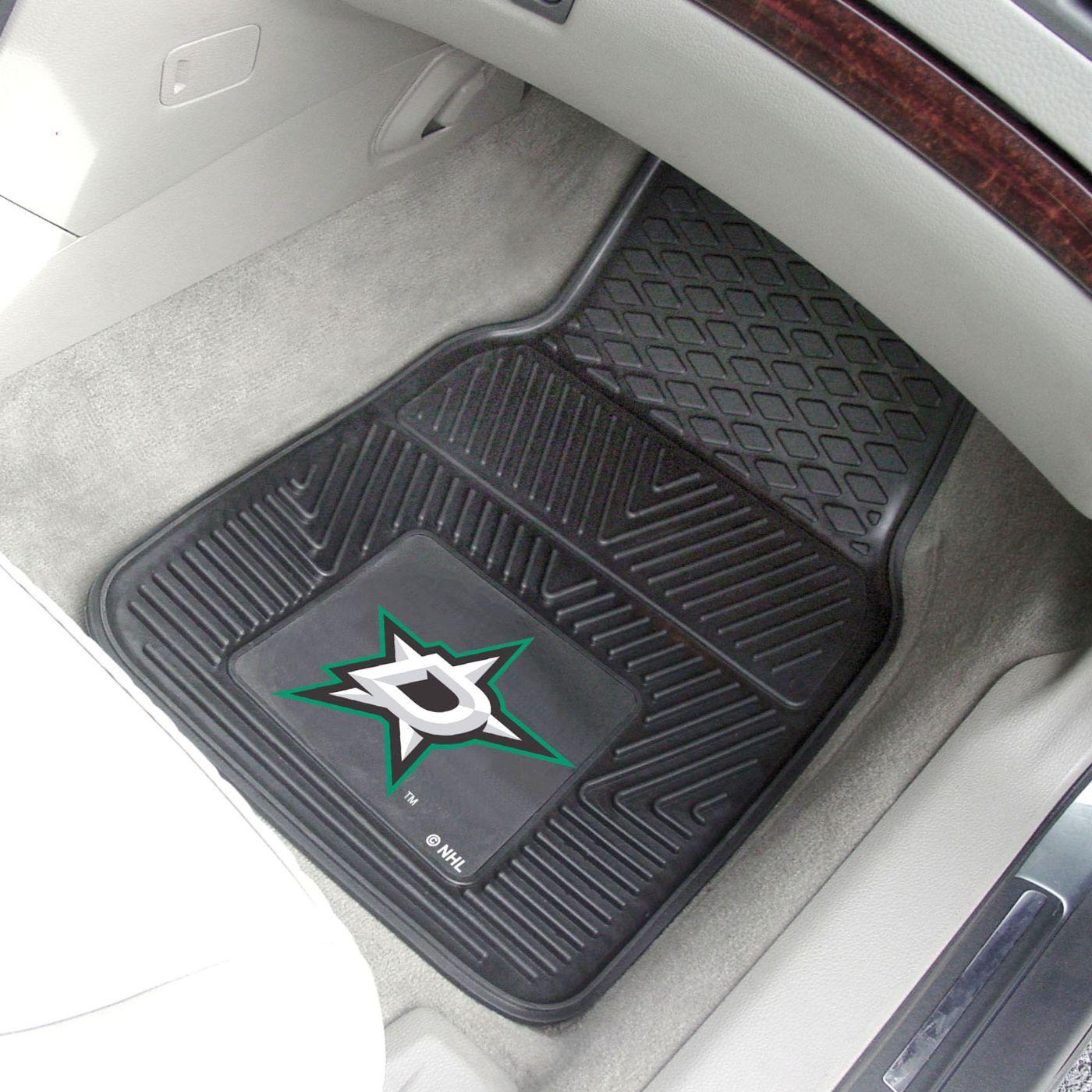FANMATS Dallas Stars 2 Piece Heavy Duty Vinyl Car Mat Set