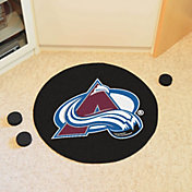 FANMATS Colorado Avalanche Puck Mat