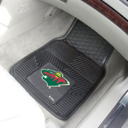 FANMATS Minnesota Wild Two Piece Heavy Duty Vinyl Car Mat Set